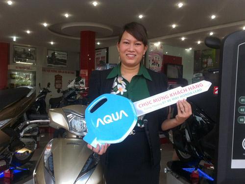 Bảo hành điện tử AQUA và 100 khách hàng may mắn trúng xe Lead - 1