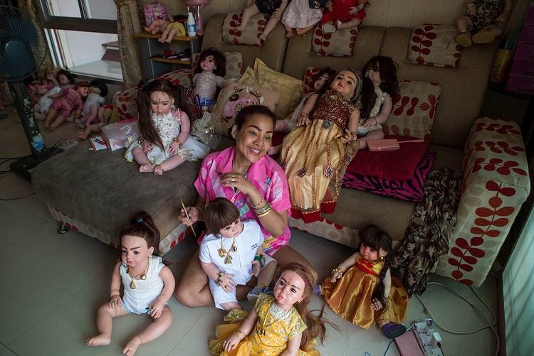 Cơn sốt nuôi búp bê như con đẻ ở Thái Lan - 4