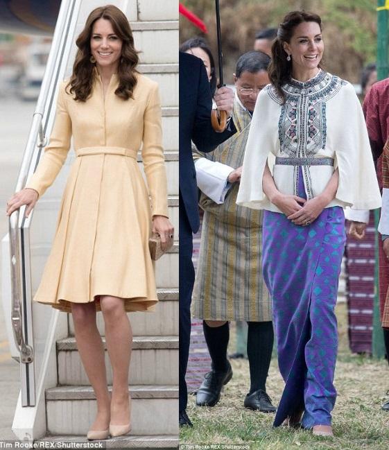 Công nương Anh chi 1 tỷ sắm váy áo cho 7 ngày công du - 11