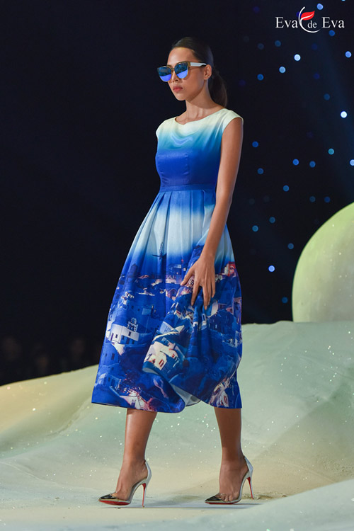 Những mẫu thiết kế kiêu sa khép lại show Eva de Eva - 2