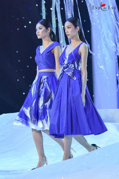 Những mẫu thiết kế kiêu sa khép lại show Eva de Eva - 4