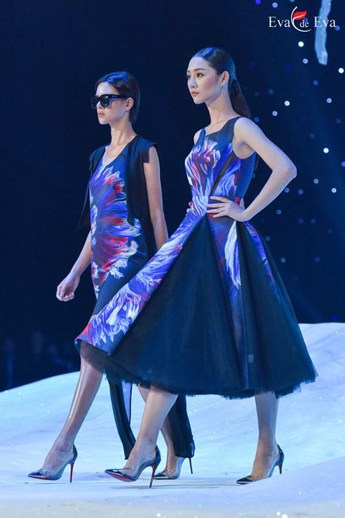 Những mẫu thiết kế kiêu sa khép lại show Eva de Eva - 7