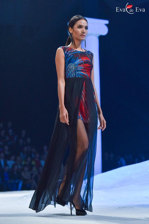 Những mẫu thiết kế kiêu sa khép lại show Eva de Eva - 9