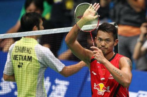 Cầu lông: Tiến Minh có thể gặp Lin Dan ở giải châu Á - 1