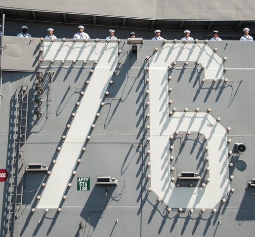 Ảnh: Độ hoành tráng của tàu sân bay Mỹ - 4