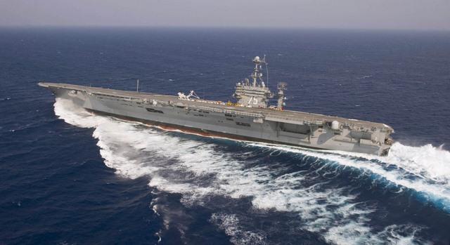 Ảnh: Độ hoành tráng của tàu sân bay Mỹ - 12
