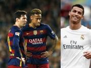Bóng đá - Messi và Neymar sa sút, Ronaldo sáng cửa đoạt QBV