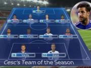 """Bóng đá - Đội hình hay nhất mùa NHA: Không """"Vua kiến tạo"""" Ozil"""