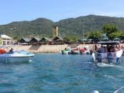 Du lịch - Biển động, hơn 1.000 du khách mắc kẹt ở Cù Lao Chàm