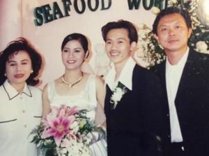 Đời sống Showbiz - Lộ ảnh cưới của danh hài Hoài Linh với vợ dễ thương