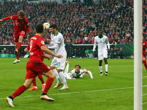 Bayern vs Bremen - 1