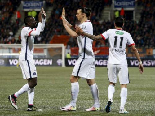 Lorient - PSG: Ibrahimovic lại là vai chính - 1