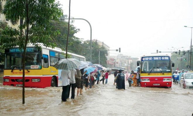 Hà Nội vẫn ngập nặng nếu mưa to - 1
