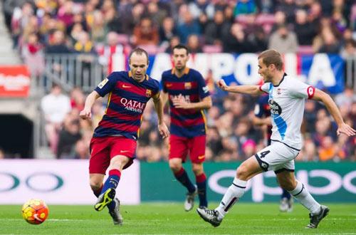 """Deportivo – Barca: Vấp ngã là """"chết"""" - 1"""