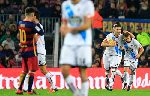 """Deportivo – Barca: Vấp ngã là """"chết"""" - 2"""