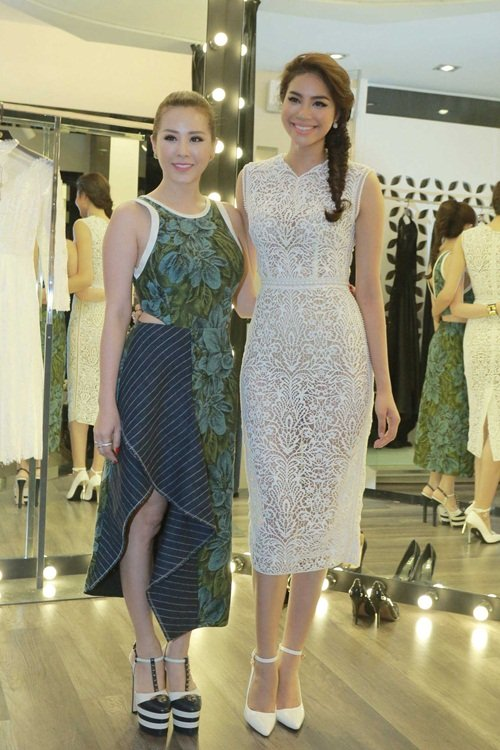 Mỹ nhân Việt nô nức khoe dáng với váy ren quyến rũ - 3