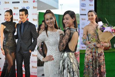 """Váy """"mặc như không"""" gây xôn xao thảm đỏ Singapore - 6"""