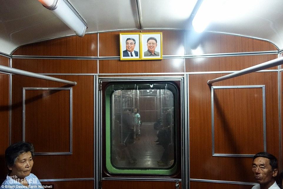 Bất ngờ hệ thống tàu điện ngầm bí mật ở Triều Tiên - 3