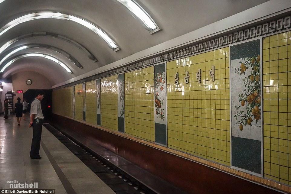 Bất ngờ hệ thống tàu điện ngầm bí mật ở Triều Tiên - 7