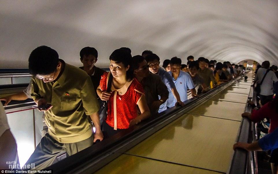Bất ngờ hệ thống tàu điện ngầm bí mật ở Triều Tiên - 8