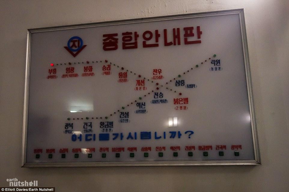 Bất ngờ hệ thống tàu điện ngầm bí mật ở Triều Tiên - 6