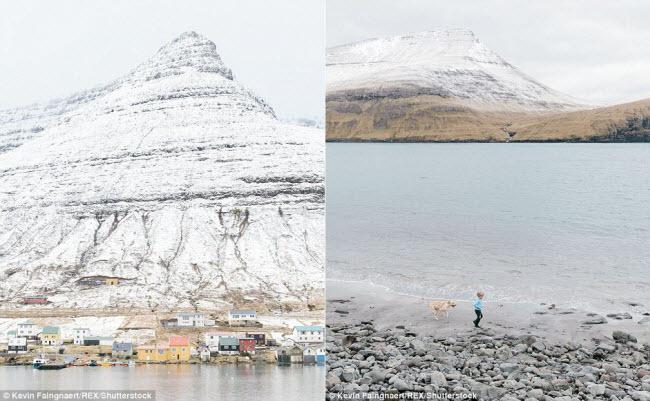 Nhiếp ảnh gia Kevin Faingnaert đã có dịp tới thăm những ngôi làng trên quần đảo Faroe và ghi lại hình ảnh về cuộc sống của người dân tại đó.