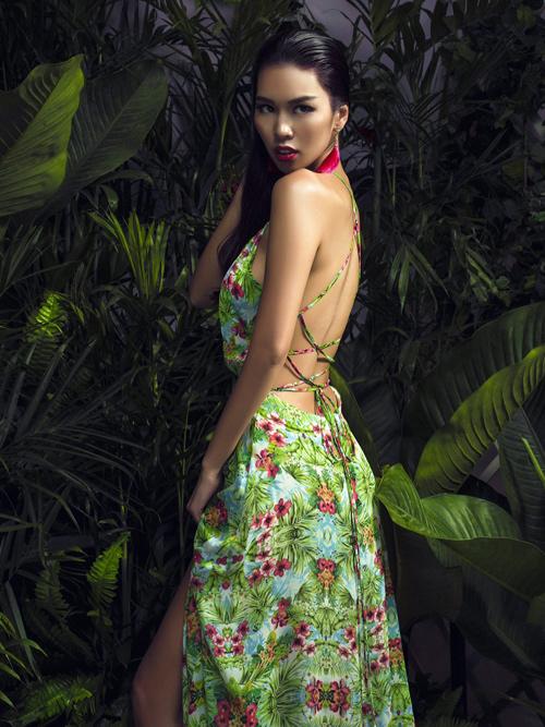 Hà Anh nóng bỏng trong sắc màu nhiệt đới - 3