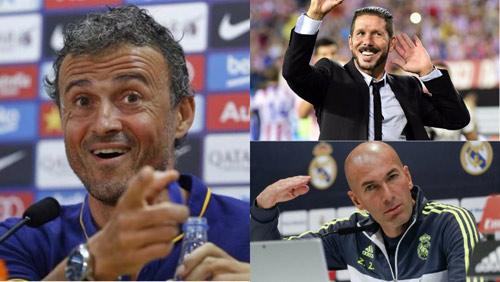 """Barca - Atletico - Real đua tranh, 3 tướng """"khẩu chiến"""" - 1"""