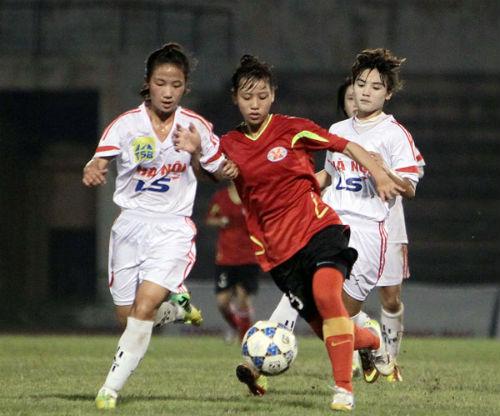 Sự cố hi hữu ở giải bóng đá nữ U19 Việt Nam - 1