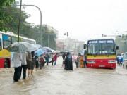 Tin tức trong ngày - Hà Nội vẫn ngập nặng nếu mưa to