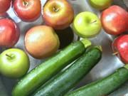 Sức khỏe đời sống - Mẹo pha 4 loại hỗn hợp khử sạch chất độc trong hoa quả, rau củ