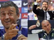 """Bóng đá - Barca - Atletico - Real đua tranh, 3 tướng """"khẩu chiến"""""""
