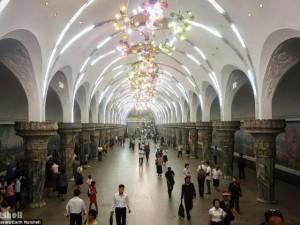 Bất ngờ hệ thống tàu điện ngầm bí mật ở Triều Tiên