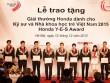 Khởi động giải thưởng dành cho Kỹ sư và Nhà khoa học trẻ Việt Nam