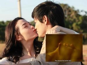 Lộ cảnh nóng của Minh Hằng-Quý Bình trong phim mới