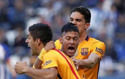Chi tiết Deportivo - Barca: Messi, Neymar góp vui (KT) - 4