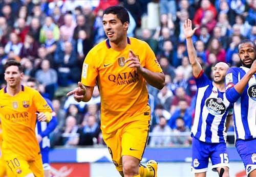 In dấu giày vào 7 bàn, Suarez đi vào lịch sử Liga - 1