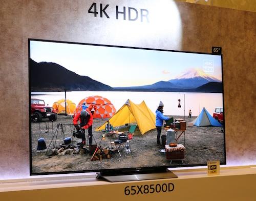 Sony trình làng loạt TV 4K HDR hoàn toàn mới, giá không rẻ - 1