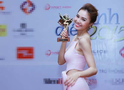 Lan Ngọc, Nhã Phương cùng đoạt giải Cánh diều vàng - 1