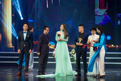 Lan Ngọc, Nhã Phương cùng đoạt giải Cánh diều vàng - 2