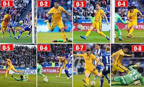 """Barca đại thắng, HLV Enrique sợ học trò """"trên mây"""" - 1"""