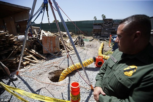 Mexico: Phát hiện đường hầm chứa ma túy dài nhất thế giới - 4