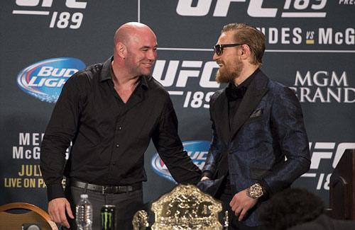 """UFC: Không có chuyện """"gã điên"""" McGregor về hưu non - 1"""