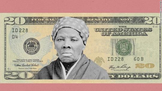 Phụ nữ da màu đầu tiên xuất hiện trên giấy bạc Mỹ - 1