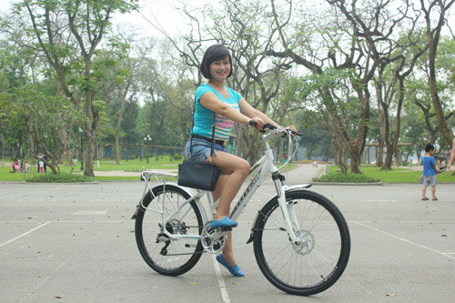 Xe đạp Totem - phương pháp cải thiện vóc dáng cho bạn gái - 2