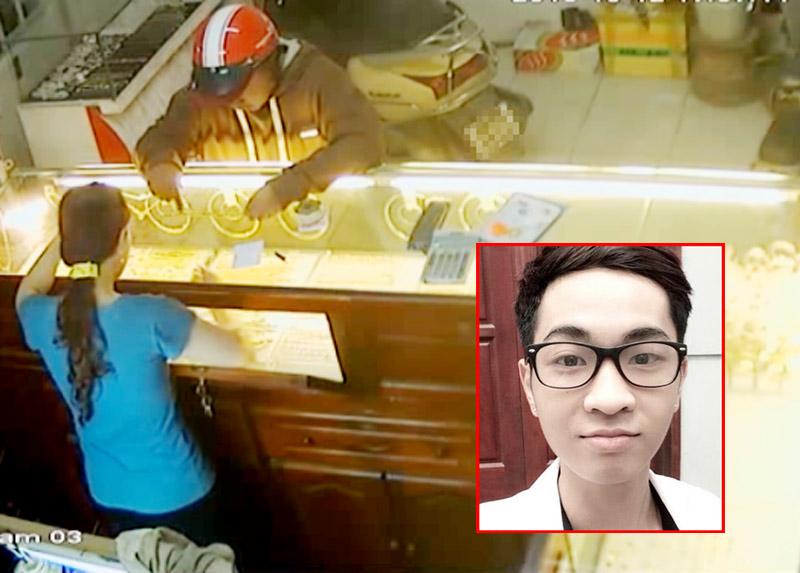 Cảnh sát truy lùng, bắt thanh niên cướp tiệm vàng ở Hà Nội - 1