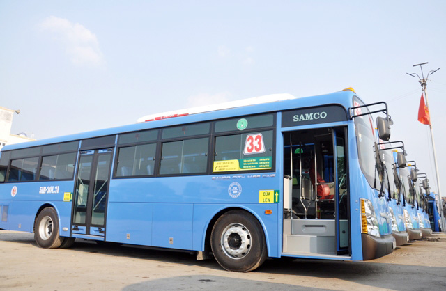Tuyến xe buýt chất lượng 5 sao Ga Hà Nội - Nội Bài 3000 đồng - 1