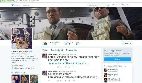 """UFC: Vì tiền, """"Gã điên"""" McGregor không về hưu non - 2"""