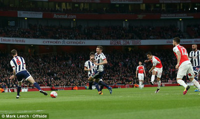 Arsenal vs West Brom - 3