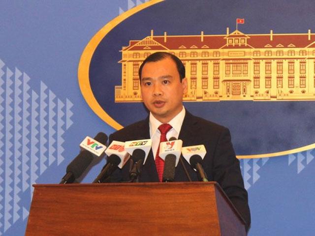 VN phản đối Phó Chủ tịch Quân ủy TQ ra đá Chữ Thập - 1